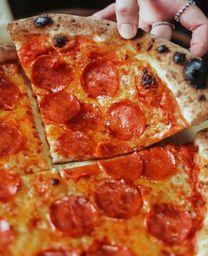 Pizza meio a meio 30cm