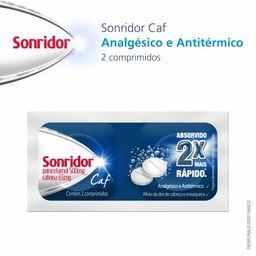 Sonridor Caf 500mg 2 Comprimidos Efervescentes