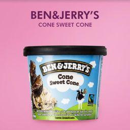 Sorvete BEN & JERRY´S Cone Sweet Cone 120 ml
