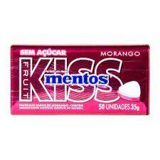 Mentos Kiss Morango