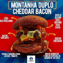 Montanha Duplo Cheddar Bacon