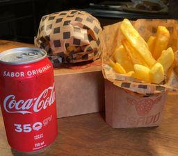 Combo Asado Burger 200g