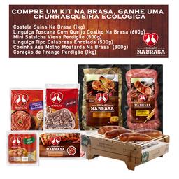 Kit Na Brasa + Churrasqueira - Cód 315449