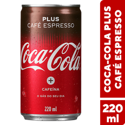 Coca-Cola Plus Café Expresso 220ml