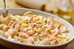 Shrimp Alfredo