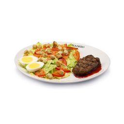 Caesar Salad de Mignon Grelhado