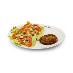 Caesar Salad Falafel Burger Vegano