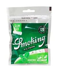 Smoking Menthol Slim - 120 Unidades