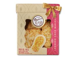 Biscotti Leggero de Coco Queimado - 100g