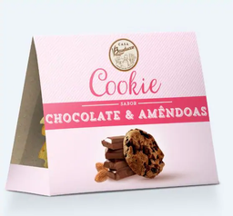 Cookie de Chocolate com Amêndoas - 140g