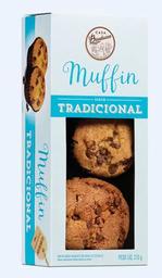 Muffin de Baunilha com Gotas de Chocolate - 210g