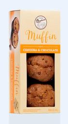 Muffin de Cenoura com Gotas de Chocolate - 210g