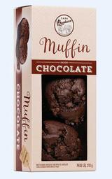 Muffin de Chocolate com Gotas de Chocolate - 210g