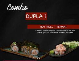 Combo Dojô Dupla 1 - 1 Tmk e 1 Hot Roll