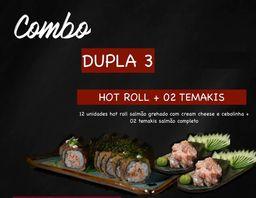 Combo Dojô Dupla 3 - 2 Tmks e 1 Hot Roll