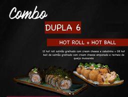 Combo Dojô Dupla 6 - Hot Roll e Hot Ball