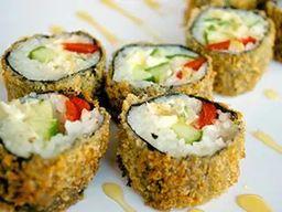 Hot Roll Vegetariano - 12 Unidades