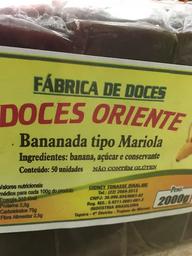 Bananada Tipo Mariola