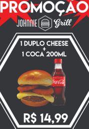 1 Duplo Cheese + 200ml