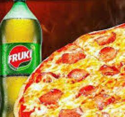 Promoção Pizza Grande + Fruki 1,5lt