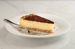 Cheesecake de Ovomaltine - Fatia