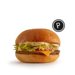 Cheeseburger Vegetariano P