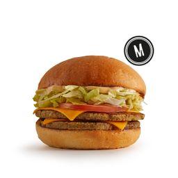 Cheeseburger Vegetariano M