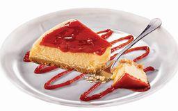 Cheesecake de Goiaba - Fatia