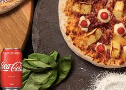 2 Pizzas Tradicionais 30cm + Coca-Cola Original 350ml