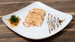 Sashimi de Salmão Maçaricado - 6 Peças