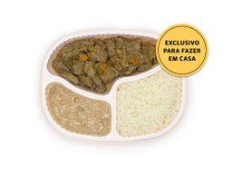 Picadinho de Carne com Feijão Carioquinha