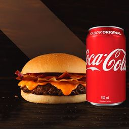Combo Smash Burger + Coca-Cola - Cód 316668