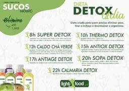 Kit detox 1 dia - perda de até 1.5kg