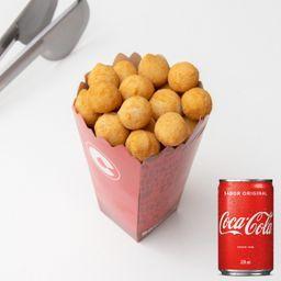 Combo 10 Salgados + Coca-Cola 220ml