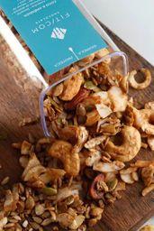 Granola Coco e Amêndoa - Pote Hermético