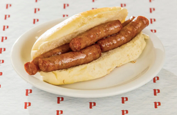 Sanduíche de Linguiça Suína Pavelka
