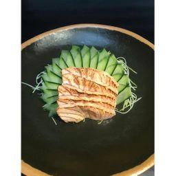 Sashimi Salmão Maçaricado - 10 Unidades