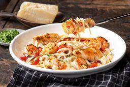 Shrimp & Chicken Carbonara