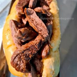 Pão de Alho com Picanha
