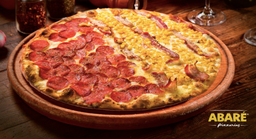 Pizza Meio a Meio Salgada - Pequena