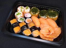 Sushi Paraná - 20 peças GRÁTIS Temaki Skin