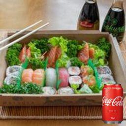 Combo Combinado Jizo 1 + Coca-Cola