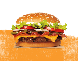 Whopper Barbecue Bacon