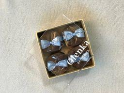 Caixa Presente 4 Bem Casados de Brownie