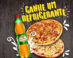 2 Pizzas Gigantes + Guaraná 1,5l