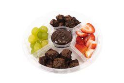 Petisqueira de Brownie com Frutas