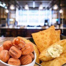 Combo kids - 3 pasteis + 10 mini churros