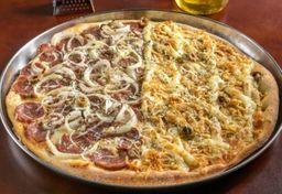 Pizza Meio a Meio Salgada - Grande