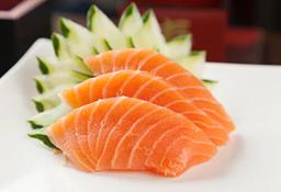 Sashimi de Salmão - 6 Unidades