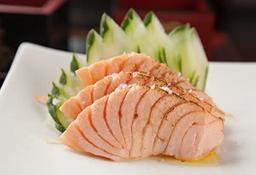 Sashimi de Salmão Pesto - 8 Unidades